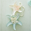 Starfish Glass Plates, Set of 2