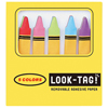 SALE!  Crayon Sticky Page Flags
