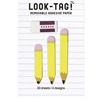 Pencil Sticky Page Flags