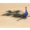 Feather Peacock Clip Ornament, 11