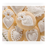 Heart Cookie Molds