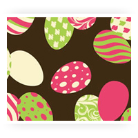 Easter Chocolate Transfer Sheets