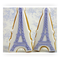 French Themed Cookie Cutters
