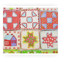 Quilting Theme Cookie Cutters