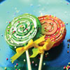 Swirl Lollipop Hard Candy Sillicone Mold