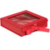 Folding Gourmet Box, Red 6 X 6