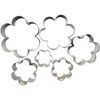 Cookie Cutter Daisy Set of 6, Plain Edge