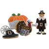 Cookie Cutter Thanksgiving Set Tin