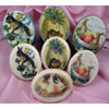 Easter Vintage Ovals Wafer Pa