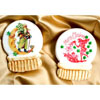 Holiday Snow Globe Images Wafer Paper