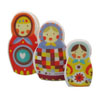 Matryoshka Nesting Dolls Wafer Paper
