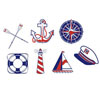 Nautical Icons Wafer Paper, Set of 40