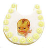 SALE! Cookie Cutter Baby Bib Copper
