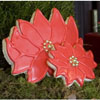 Cookie Cutter Poinsettia Large Copper