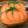 Cookie Cutter Halloween Pumpkin Copper