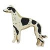 Cookie Cutter Greyhound Tin