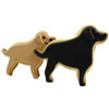 Cookie Cutter Lab Dog Copper