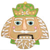ArtGirl Nutcracker Cookie Cutter, Tin