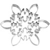 Cookie Cutter Giant Icy Snowflake Stainless Steel