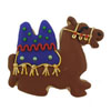 Hammer Song Camel Tin Cookie Cutter
