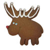 Hammer Song Wee Reindeer Tin Cookie Cutter