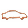 Cookie Cutter Nascar Race Car Copper