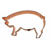 Cookie Cutter Pig Copper