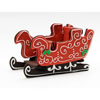3D Sleigh Cookie Cutter, Stainless Steel