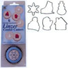 Linzer Winter Fantasy Cookie Cutter Set wi