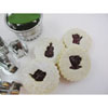Linzer Tea & Coffee Cookie Cutter Set with 6 Inserts