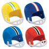 Football Helmet Cupcake Decorations, Set of 8