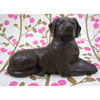 3D Labrador Retriever Dog Chocolate Mold, 2 Piece