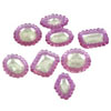 Edible Diva Designs Inverted Pale Lavender Sugar Cake Jewels