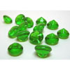 Edible Green Diamond  Sugar Cake Jewels Small, Set of 56