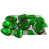Edible Sugar Gem Stone Assortment Emerald, Set of 14