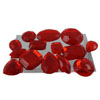 Edible Sugar Gem Stone Assortment Ruby, Set of 14