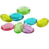 Edible Sugar Oval Gem Stones Small, Set of 16