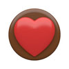 Chocolate Covered Oreos Big Heart Cookie Mold
