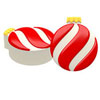 Chocolate Covered Oreos Christmas Spiral Ornament