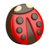 Chocolate Covered Oreos Ladybug Mold