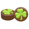Chocolate Covered Oreos Shamrock Mold