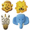 Sugar Jungle Animals, Set of 8