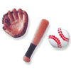 Sugar Baseball Assortment, Set of 11