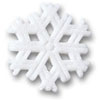 Sugar Snowflakes, Set of 1
