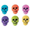 Sugar Skulls Neon, Set of 6