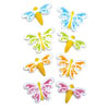 Sugar Butterfly & Dragonfly Assortment, Set of 8