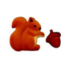 Sugar Squirrel & Acorn, Set of 12