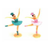 Small Ballerina Cupcake Picks, Set of 12