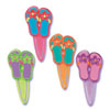 Flip Flops Cupcake Picks, Set of 12