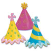 SALE! Party Hat Cupcake Picks, Set of 6